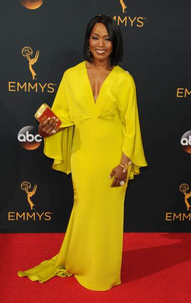 Emmy Awards 2016 : Angela Bassett en Christian Siriano