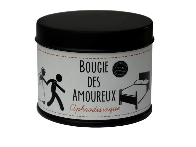 Bougie. Aphrodisiaque, 9,50€, Le Mas du roseau.