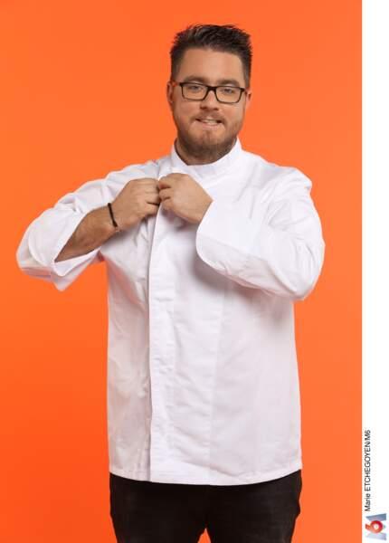 Carl Dutting, 30 ans, La Roquette-sur-Siagne / Commis et gagnant d'Objectif Top Chef