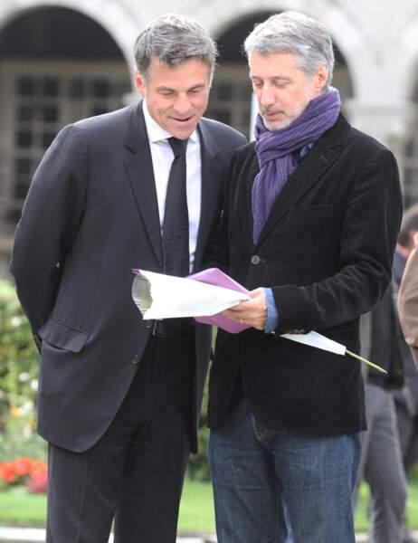 Antoine de Caunes et Bruno Gaccio