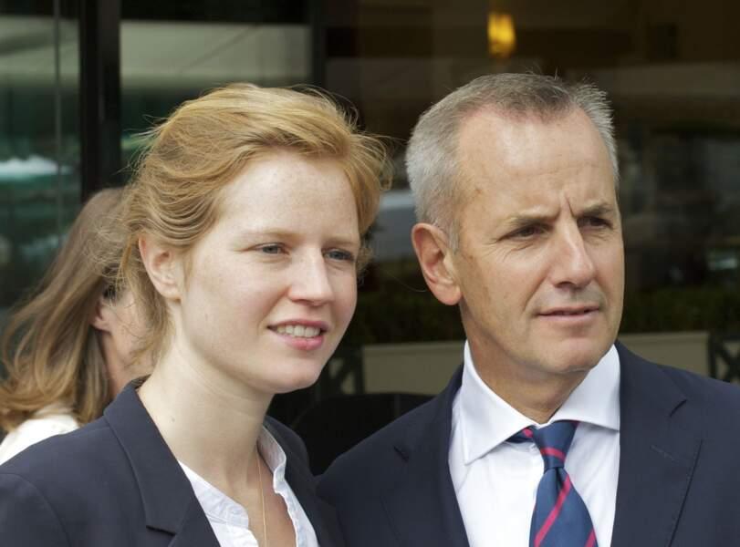 Bernard de la Villardière et sa fille Caroline