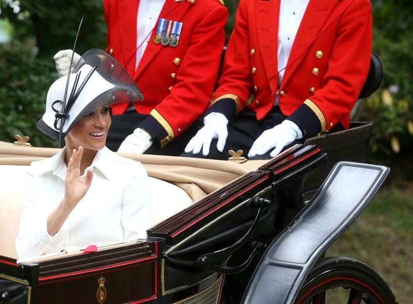 Royal Ascot : Meghan Markle