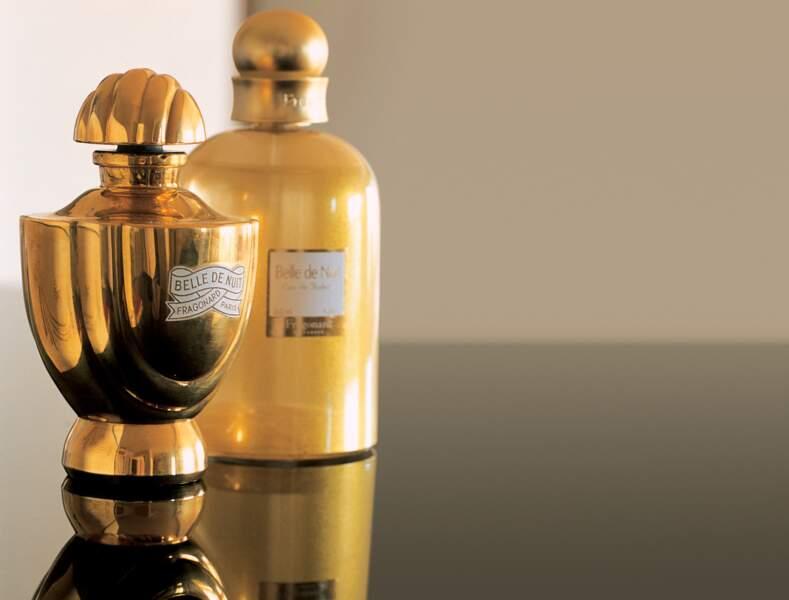 Parfum Belle de nuit, best seller Fragonard