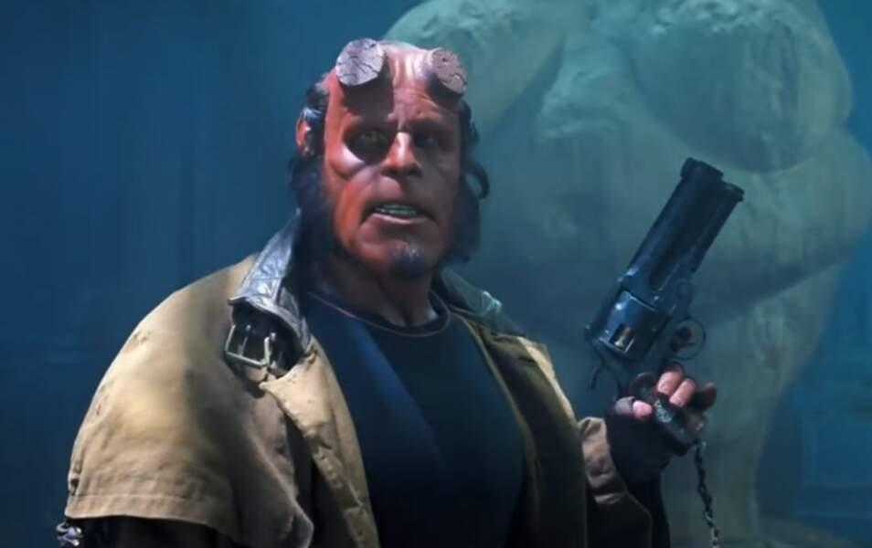 """Le personnage éponyme du film """"Hellboy"""" est..."""