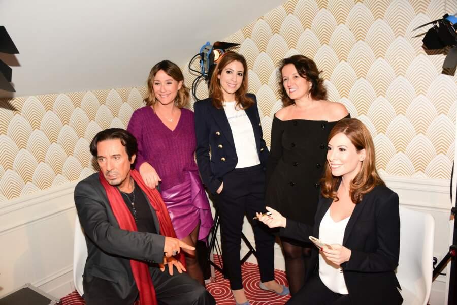 Anne Roumanoff, Daniela Lumbroso et Léa Salamé