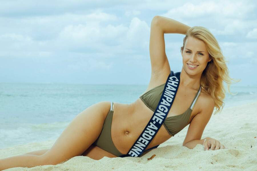Miss Champagne-Ardenne 2018: Pamela Texier