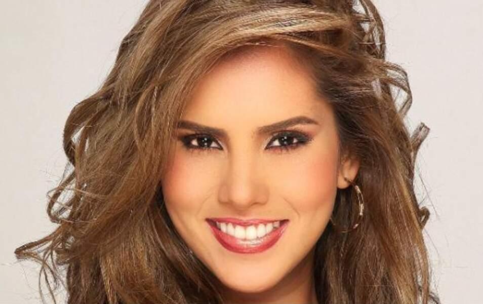 Miss Colombie Daniella Ocoro, 24 ans, 1m73