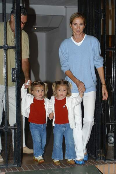 Ces stars parents de jumeaux : Victoria et Cristina avec leur maman Miranda Rijnsburger