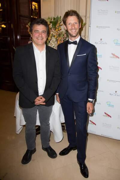 Patrick Pelloux et Romain Grosjean