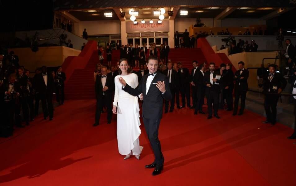 Marion Cotillard et Jeremy Renner