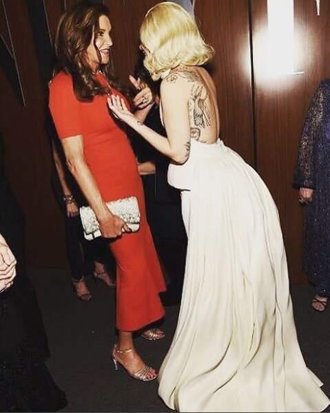 Lady Gaga a demandé à Caitlyn Jenner où s'acheter du pain de mie sans croûte