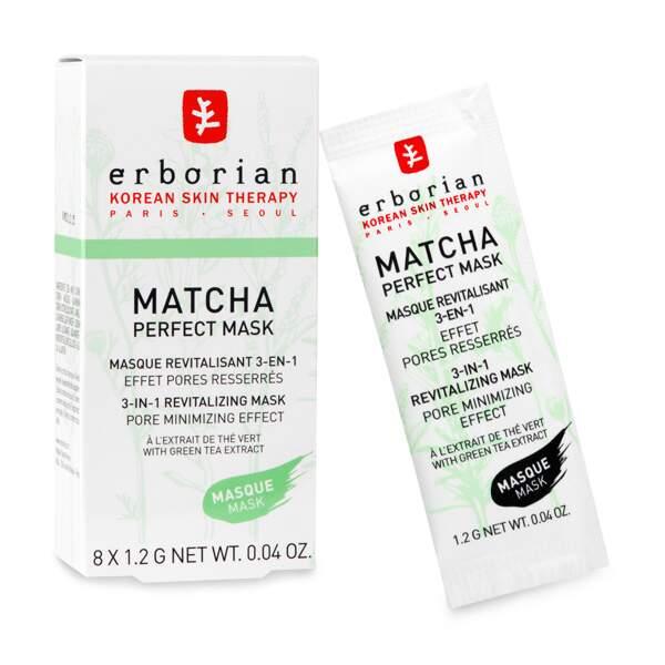 Matcha perfect mask, Erborian, 29,90 euros