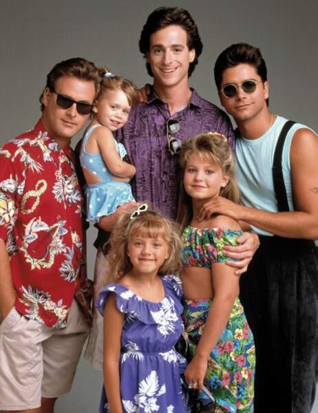 De 1987 à 1995, la Fête à la maison (Full House en VO) racontait le quotidien de la famille Tanner
