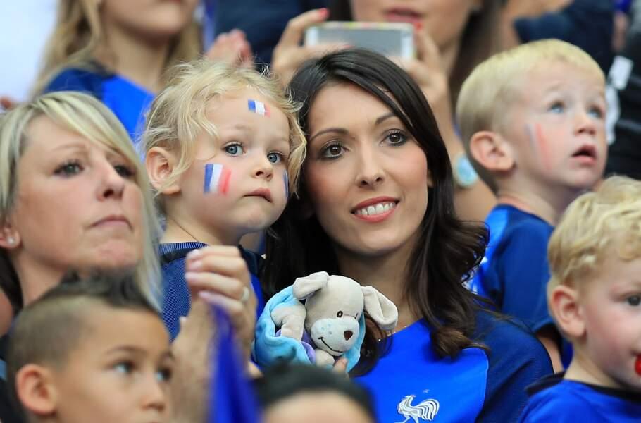 Jennifer Giroud, la femme d'Olivier Giroud, et leur fille
