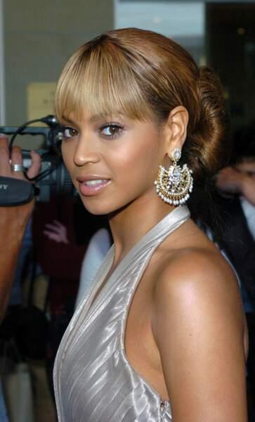 Les plus belles coiffures pour un mariage - Le bun de Beyoncé