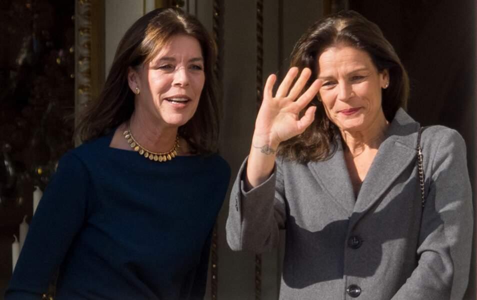 Les princesses Stéphanie et Caroline de Monaco sont là elles aussi