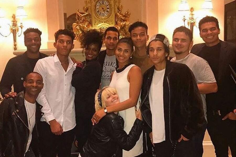 Paris Jackson réunie avec sa famille