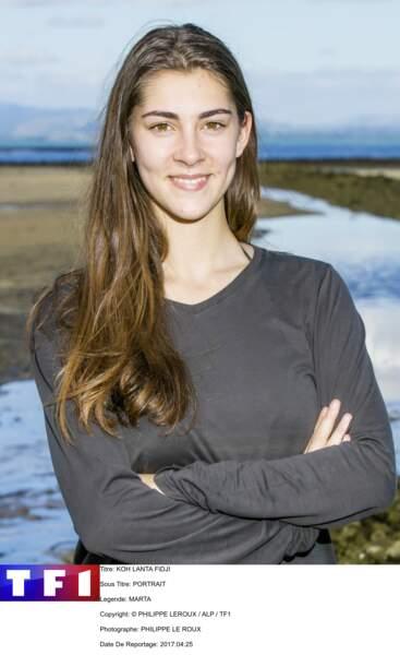 Marta / 20 ans / Etudiante en marketing et communication (Monaco)