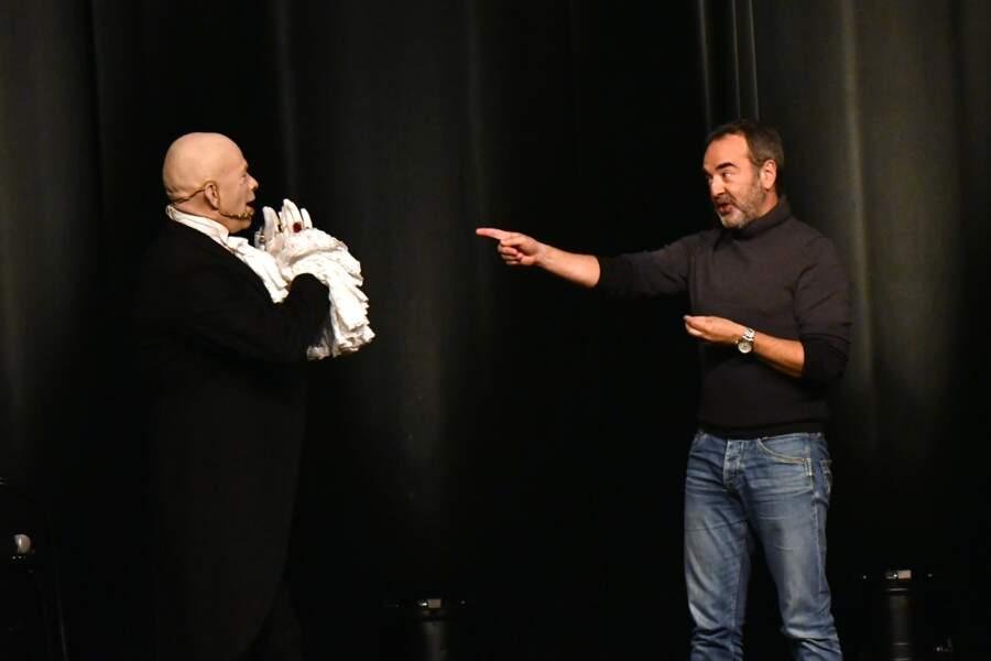 Calixte de Nigremont et Bruno Solo au 35ème festival Mont-Blanc Humour
