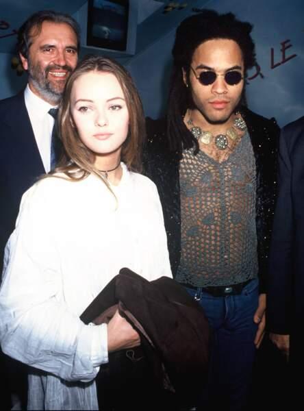 Vanessa Paradis et Lenny Kravitz en couple de 1992 à 1996