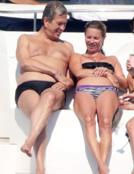 Kate Moss et Mario Testino