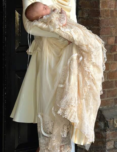 La robe de baptême du prince George date de 1841