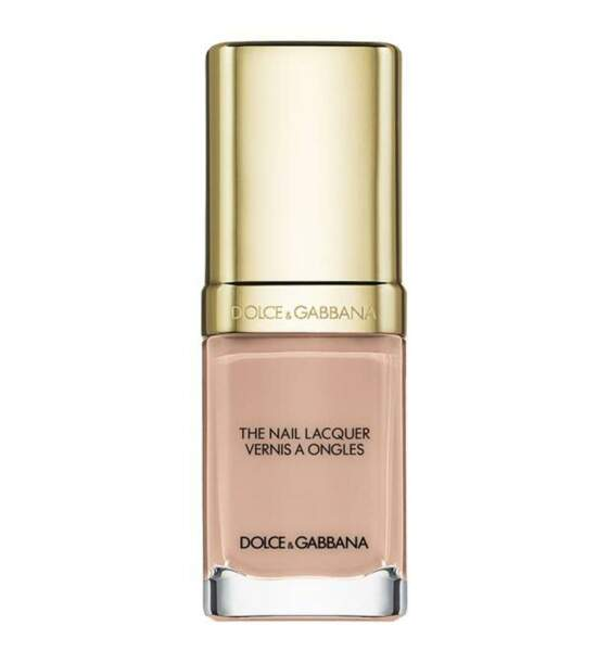 """""""The intense nail lacquer"""", couleur pure nude, Dolce and Gabbana, 20,40€"""
