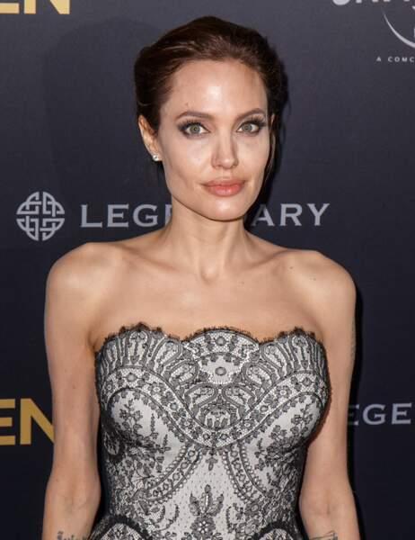 Angelina Jolie aujourd'hui...