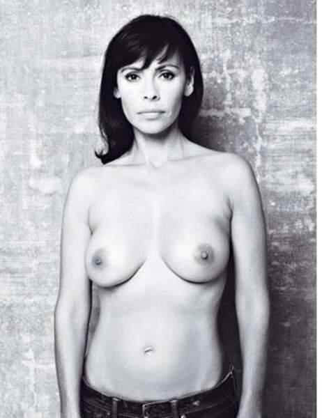 Mathilda May pour le dépistage du cancer du sein