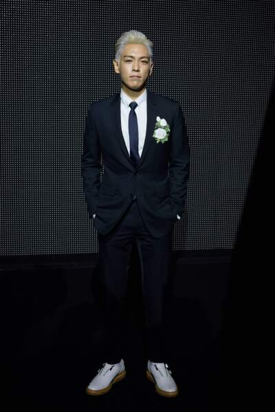 "L'acteur sud-coréen ""T.O.P"" Choi Seung Hyun"