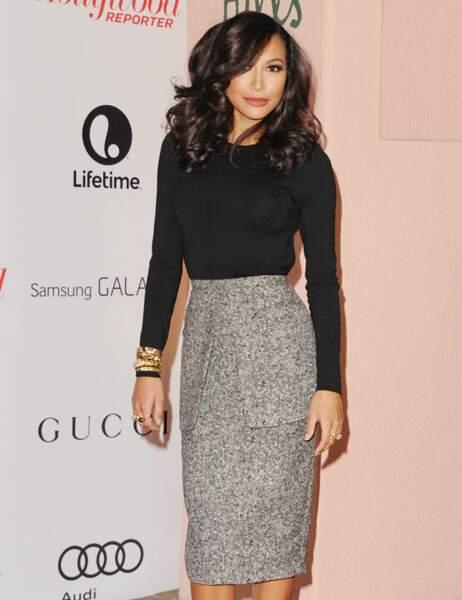 Naya Rivera de la série Glee