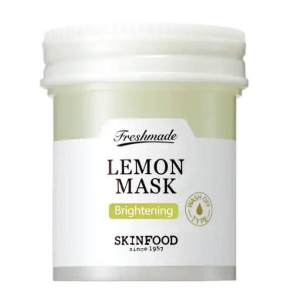 Masque aux extraits de citron frais, Skinfood, 12,50€