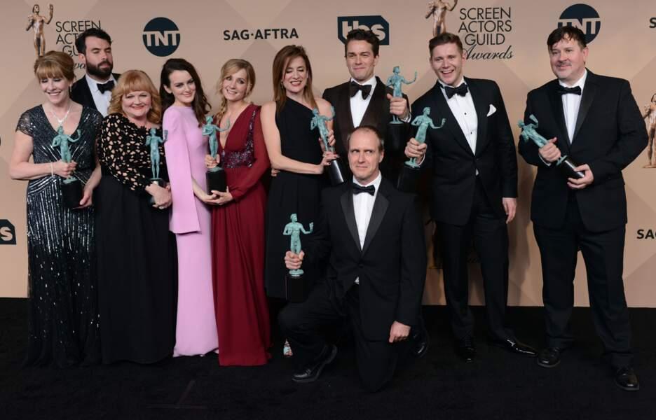 Meilleure distribution pour une série dramatique : Downton Abbey