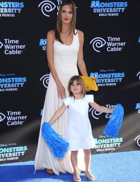 Alessandra Ambrosio et sa fille Anja Louise