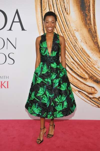 CFDA Fashion Awards : Samira Wiley absolument sublime même quand elle ne porte pas de orange