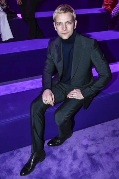 Défilé Gucci : Alessandro Borghi