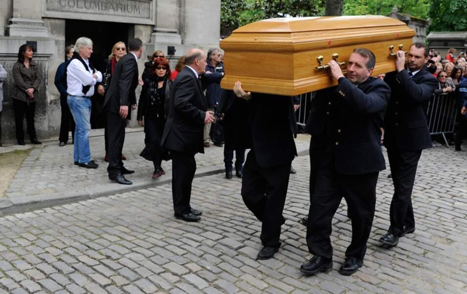 Les obsèques de Georges Moustaki