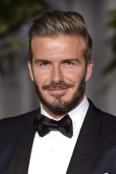 David Beckham aujourd'hui, en 2016. Comme le vin, il s'est bonifié avec le temps <3