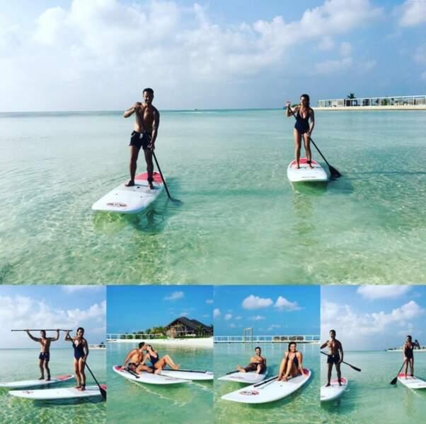 Laëtitia Milot : l'album de ses vacances de rêve sur un paddle
