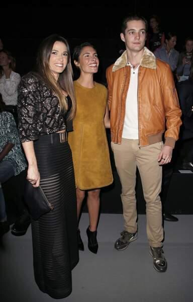 Capucine Anav, Louis Sarkozy & Alessandra Sublet