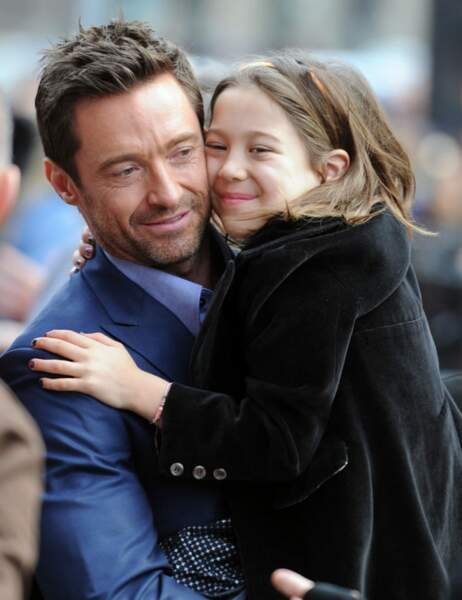Hugh Jackman et sa fille Ava