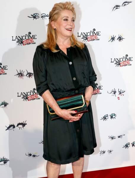 Catherine Deneuve, troisième ex aequo avec 600 000 euros