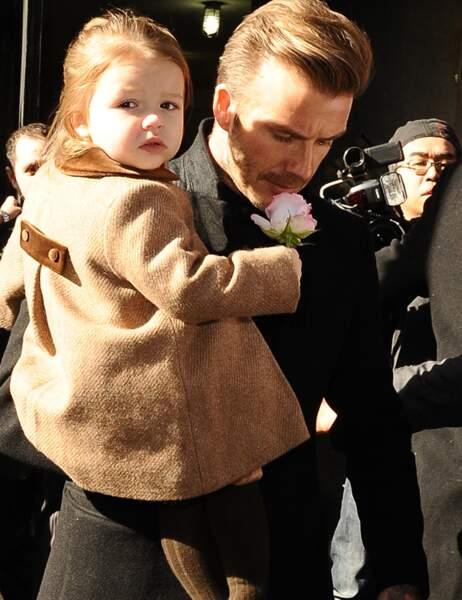 David Beckham avec JHarper dimanche à New York