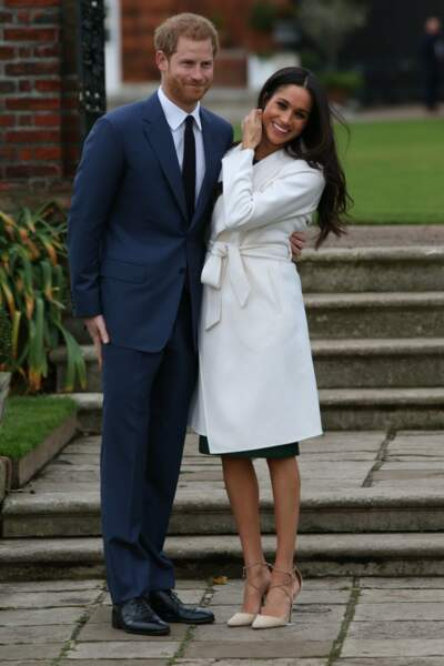 Le prince Harry et Meghan Markle sont fiancés