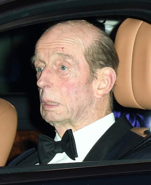 Le duc de Kent à l'anniversaire du prince Charles