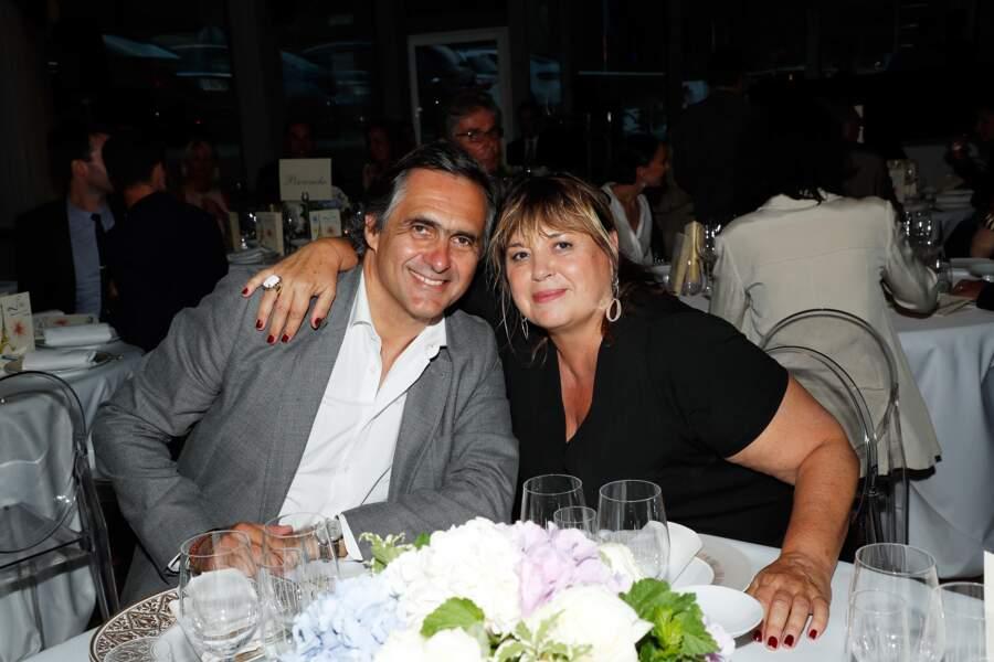 Emmanuel Chain, avec Michèle Bernier, prêt à faire la fête