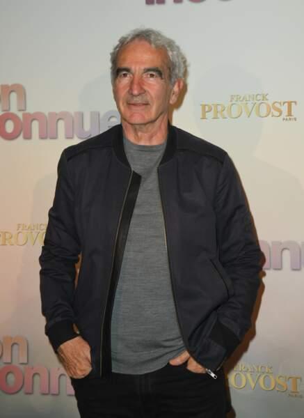 Raymond Domenech à l'avant-première de Mon Inconnue, le 1er avril, à Paris