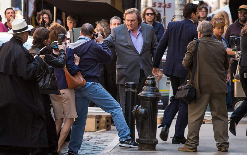 Gérard Depardieu VS les photographes
