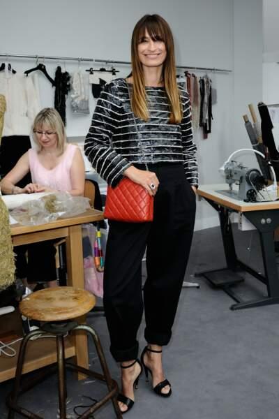 Défilé Chanel Haute Couture : Caroline de Maigret