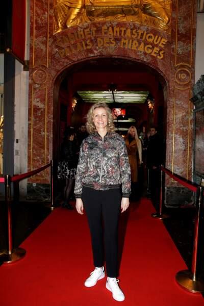 Alexandra Lamy a inauguré sa staue de cire au Musée Grevin